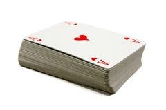 Cubierta de tarjetas Fotos de archivo