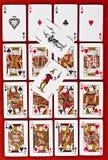 Cubierta de tarjetas Foto de archivo