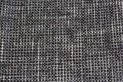 Cubierta de tela en el sofá Imágenes de archivo libres de regalías