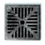 Cubierta del agujero de dren Fotografía de archivo libre de regalías