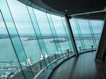 Cubierta del cielo, torre del cielo, Auckland, Nueva Zelanda foto de archivo