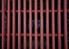 Cubierta del dren del hierro Fotos de archivo libres de regalías