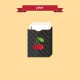 Cubierta del póker Fotografía de archivo libre de regalías