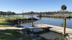 Cubierta del río en la Florida Imagen de la foto Imagenes de archivo