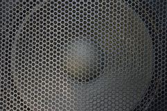 Cubierta del sonido del metal Foto de archivo libre de regalías
