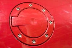 Cubierta del tanque de gasolina Fotografía de archivo