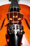 Cubierta del violín Foto de archivo
