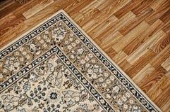 Cubierta en suelo de madera. Fotos de archivo