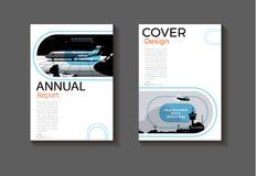 Cubierta moderna del folleto del extracto de la cubierta de libro del diseño abstracto de la cubierta libre illustration