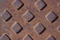 Cubierta oxidada Imagen de archivo