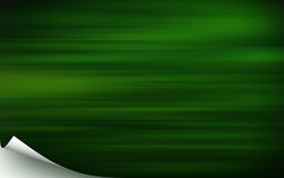 Cubierta verde ilustración del vector