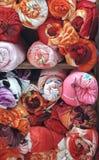 cubiertas coloridas foto de archivo libre de regalías