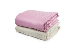Cubiertas de cama Fotografía de archivo libre de regalías