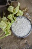 Cubiertas de Ketupat Imagen de archivo libre de regalías