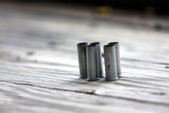 Cubiertas de la bala Fotografía de archivo libre de regalías