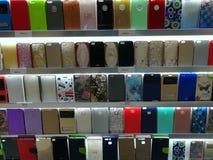 Cubiertas de la protección de Smartphone fotografía de archivo libre de regalías