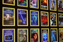 Cubiertas icónicas de National Geographic fotos de archivo libres de regalías