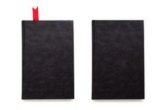 Cubiertas vacías aisladas negro fotografía de archivo libre de regalías