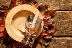Cubierto colorido del otoño o de la caída Imagenes de archivo
