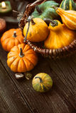 Cubierto del otoño Fotografía de archivo