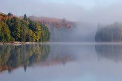 Cubierto en niebla Imágenes de archivo libres de regalías