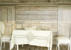 Cubiertos elegantes del vajilla Imagenes de archivo