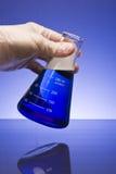 Cubilete en azul Imagen de archivo libre de regalías