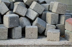 Cubiod Bricks Stock Photos