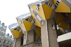 Cubique la casa, Rotterdam, Países Bajos - 11 de agosto de 2015 Foto de archivo libre de regalías