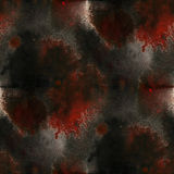Cubism abstract  black,red art texture watercolor Stock Image