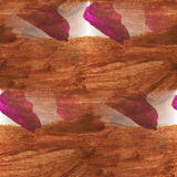 Cubism abstract  brown, pink, violet art texture Royalty Free Stock Images
