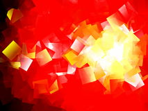 Cubism abstract red background. Cubism abstract red geometric background Stock Photo
