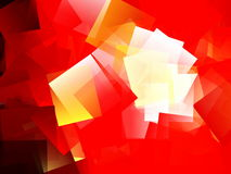 Cubism abstract red background. Cubism abstract red geometric background Royalty Free Stock Images