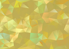 Cubism background Gold and pale multicolor Stock Photos