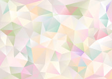 Cubism background Pale and bitter multicolor Royalty Free Stock Photos