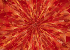Cubism background radiation Bitter dark red Royalty Free Stock Photo