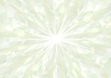 Cubism background radiation Bright mint green Royalty Free Stock Photography