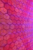 Cubisme 3d bestrating Royalty-vrije Stock Afbeeldingen