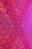 Cubisme Pavimento 3d Imagens de Stock Royalty Free