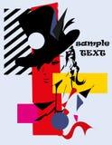 Cubismo da mulher da forma Fotografia de Stock Royalty Free
