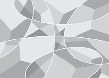Cubismo di stile del fondo Fotografia Stock Libera da Diritti