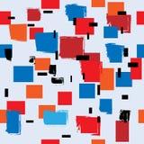 Cubismo sem emenda Imagens de Stock Royalty Free