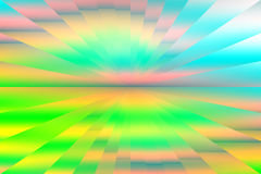 Cubist  abstract illusion background Stock Photos