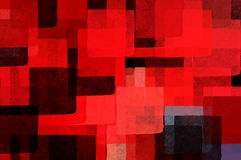 Cubist background Stock Images