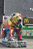 The cubist bear Stock Photos