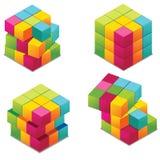 Cubo Fotografia Stock