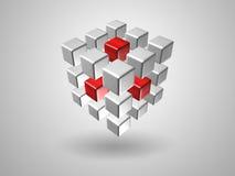 Cubo Fotografia Stock Libera da Diritti