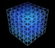 cubo 3d Imágenes de archivo libres de regalías