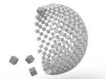 cubo 3d Foto de Stock