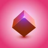 cubo 3d Fotografia de Stock